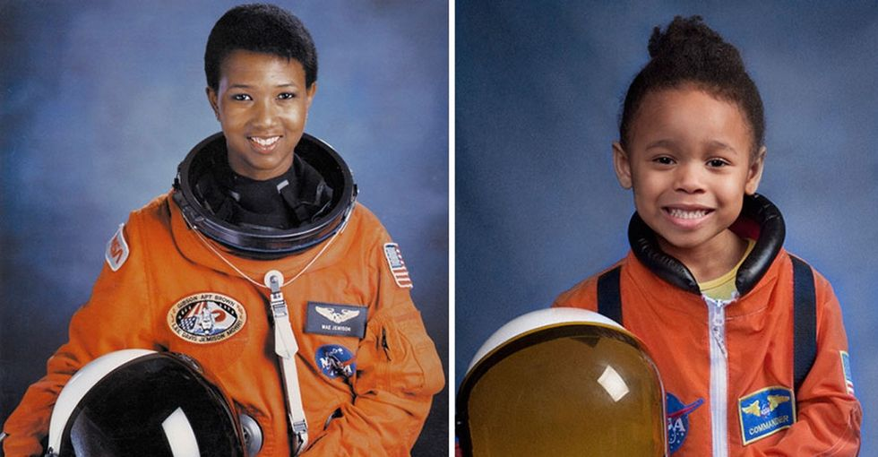 A dad took photos of his daughter as history-making women, and they are incredible.