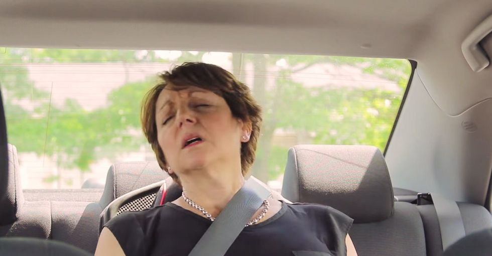 Adults try to win $100 by spending 10 minutes in a hot car to show why kids can't.