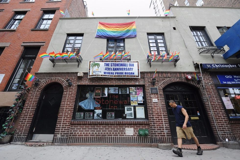 Closing time for Stonewall Inn? Don't bet on it. It has historical protection.