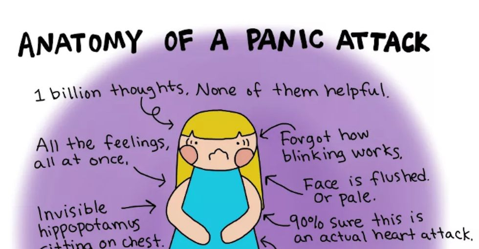 If you don't have it, chronic anxiety can be hard to understand. These comics can help.