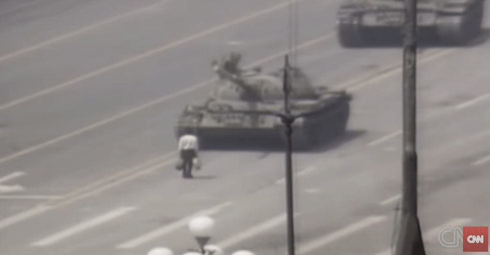 Remember 'Tank Man' from China's Tiananmen Square in 1989?