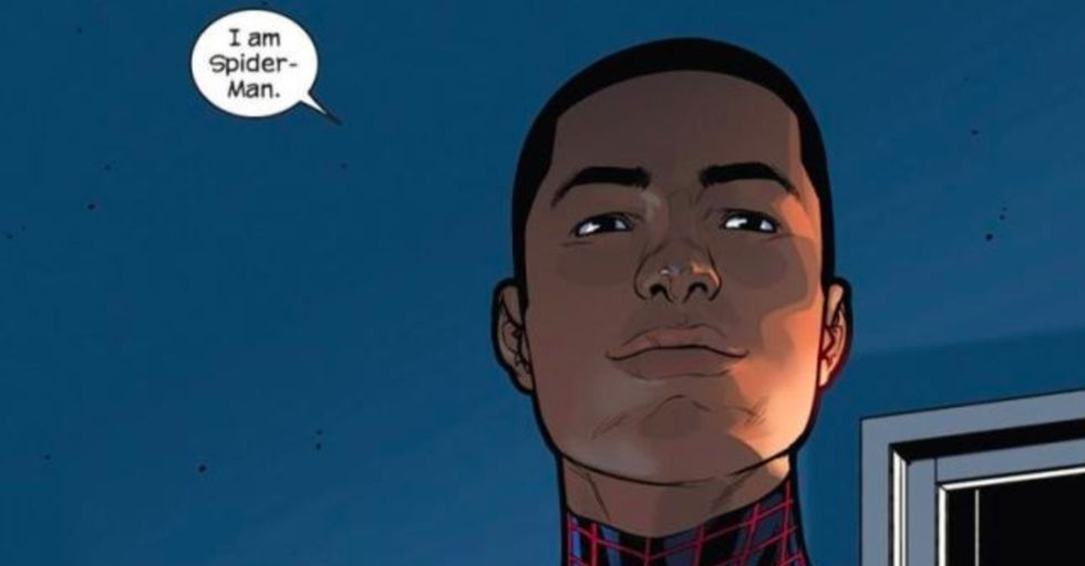The new Spider-Man is black. Here's why it's a big deal.