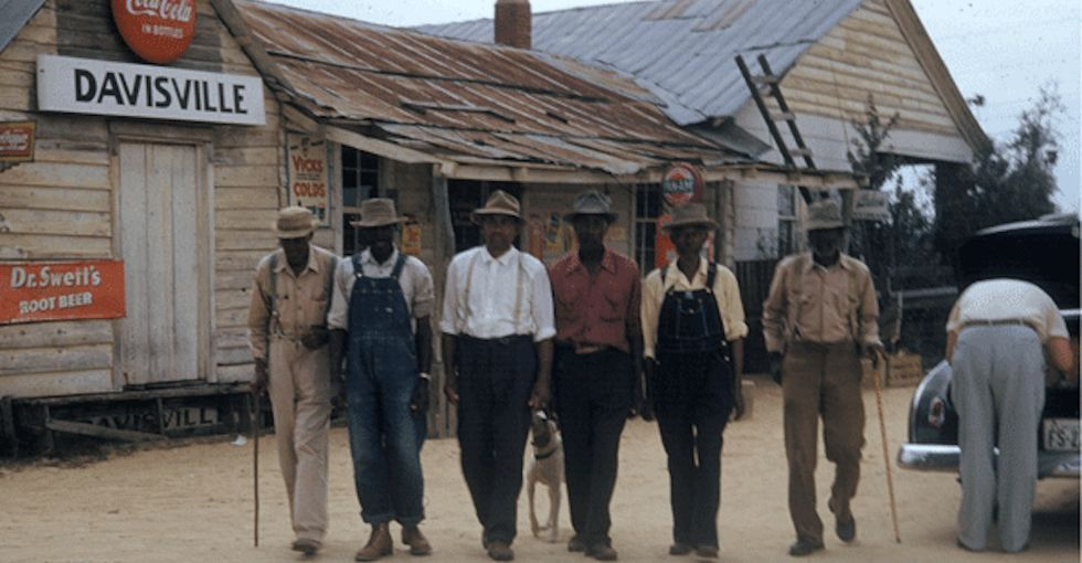 There's a place in Alabama called Tuskegee. 2 very different things happened here.