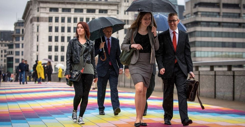 London just got a rainbow-themed surprise. Will your city be next?