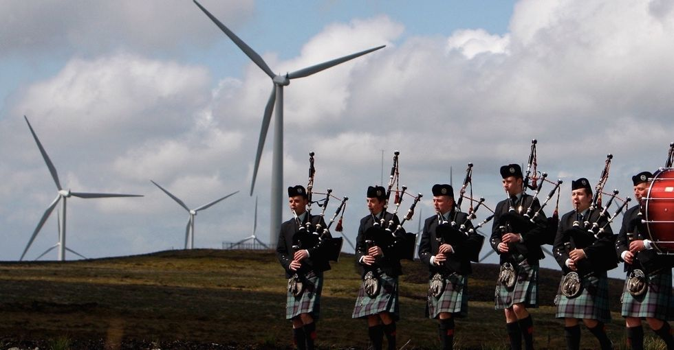 Scotland has the largest oil reserve in the E.U. They just proved they don't need it.