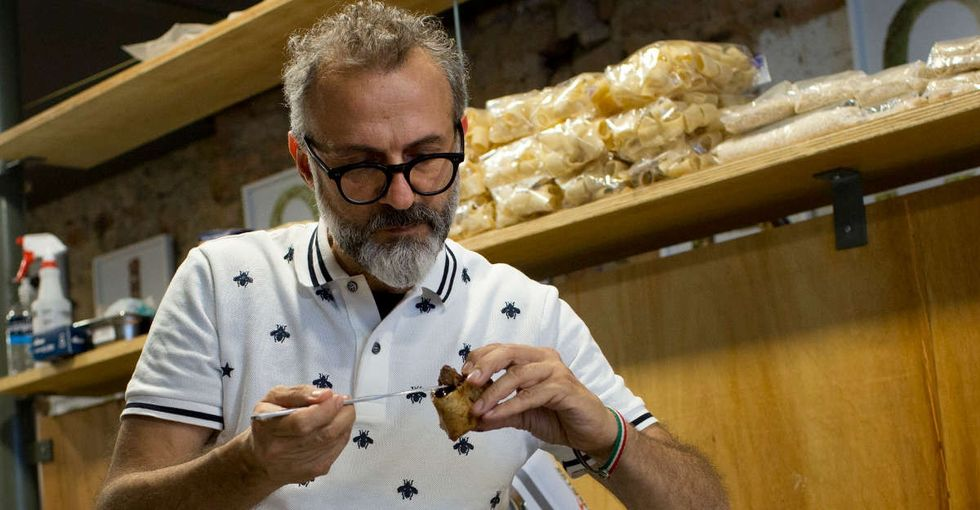 The chef of the #1 restaurant in the world is feeding Rio's homeless people for free.