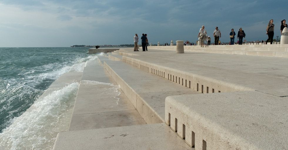 Listen to this organ in Croatia that uses the sea to make hauntingly beautiful music.