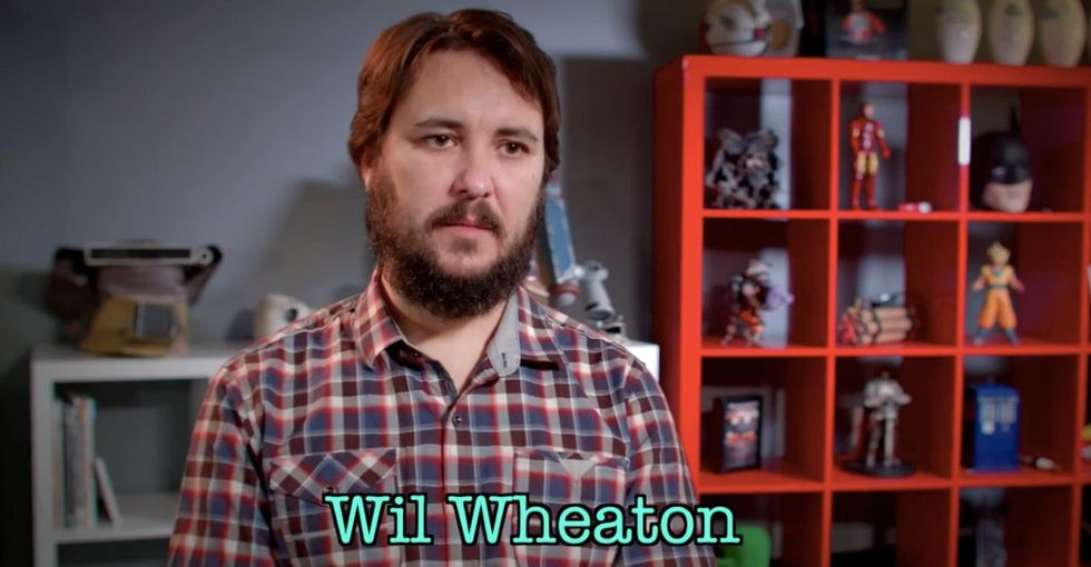 What's it like living with mental illness? Ask Wil Wheaton.
