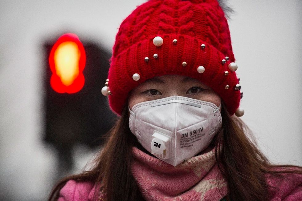 Chinese citizens are responding to the smog problem in a pretty funny way.