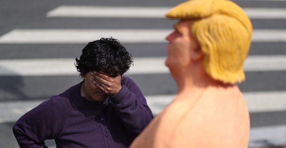 Why we really shouldn't laugh at those naked Donald Trump statues.