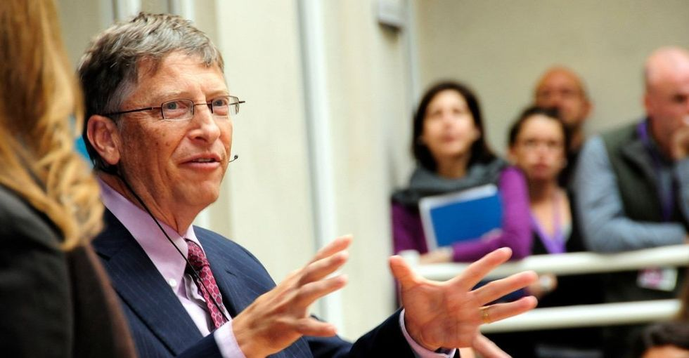 Bill Gates has a utopian dream. Watch this guy grill him about it.