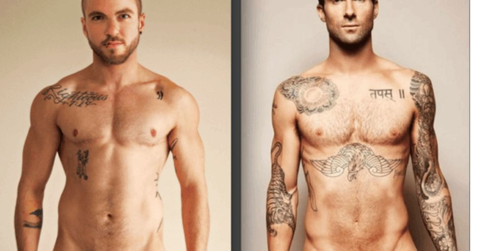 2 trans men prove an important point with a simple photo shoot.