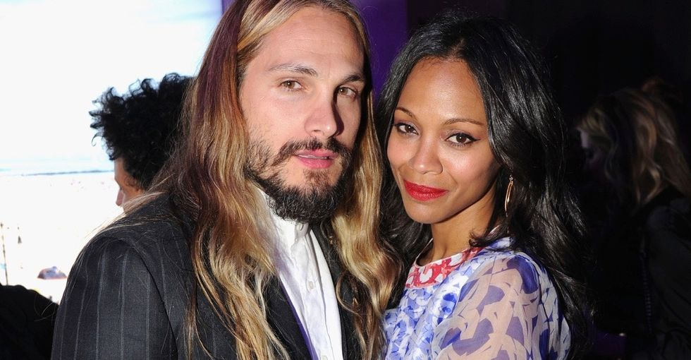 Zoe Saldana and her husband are making us reconsider last-name traditions. Here's why that's great.