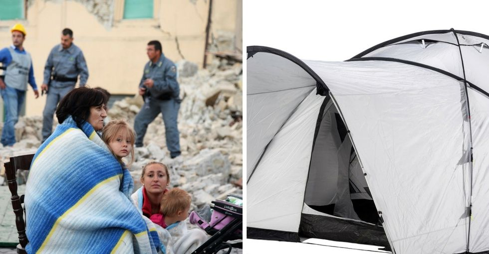 ShelterBox could be vital in Italy right now. This is how you can help those in need.