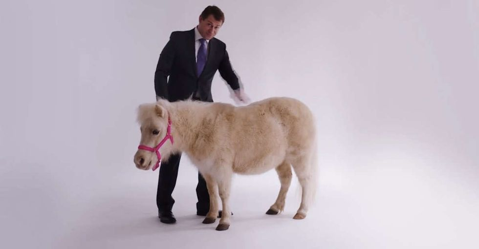 John Oliver brutally mocks political ads for women, and it's hilarious.