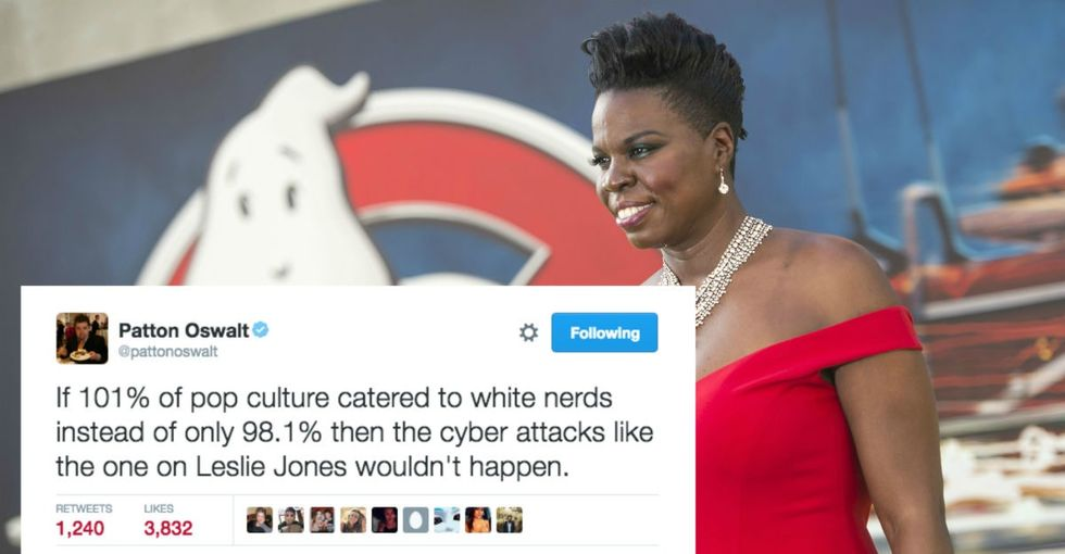 11 tweets that point out the sad, sexist, racist reality of the Leslie Jones hack.