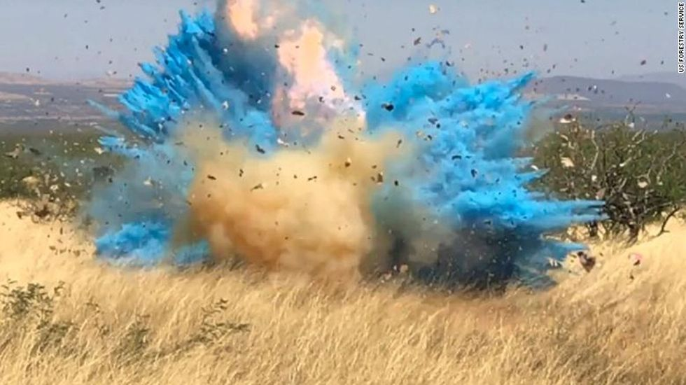 Forest service posts video of gender reveal stunt that started tragic wildfire.