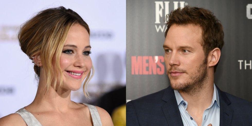 Jennifer Lawrence will make more money than Chris Pratt in their new movie. That's huge.