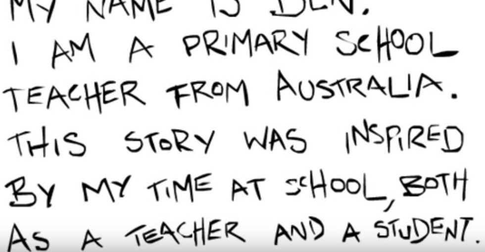 A cartoon rap flips the script on what it means to 'do well' in school.