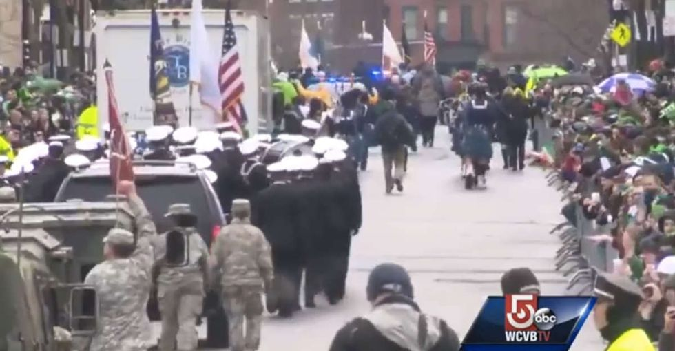 One of the most famous St. Patrick's Day parades in the world just made history.