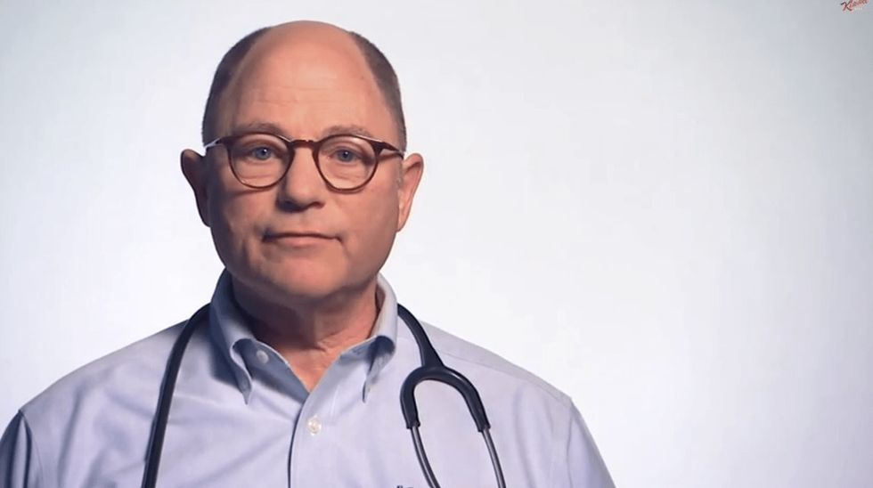 Real doctors show us just how fed up they are on Jimmy Kimmel's late-night show.