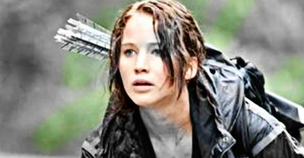 If you're not sure whether or not someone is suffering from PTSD, start with 'The Hunger Games.'