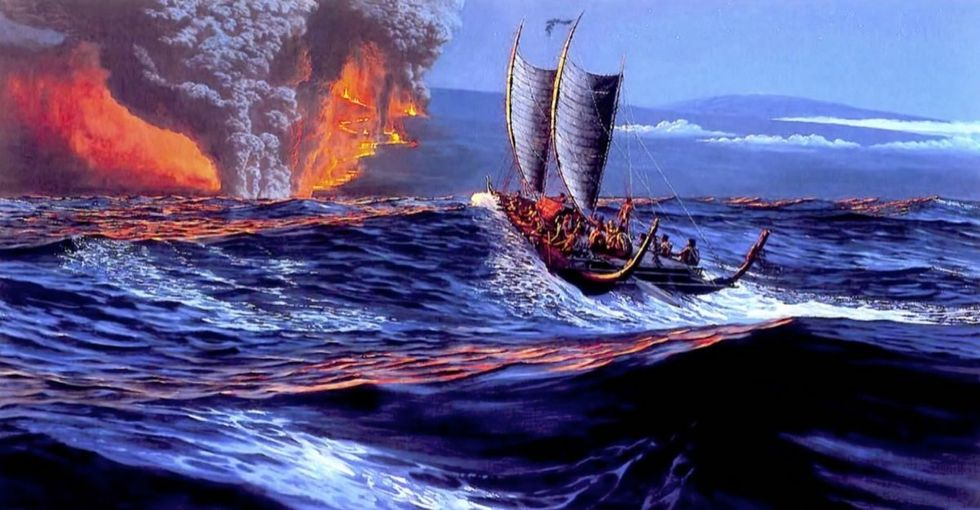 They survived 1,000 years in the middle of the Pacific. And then we arrived.
