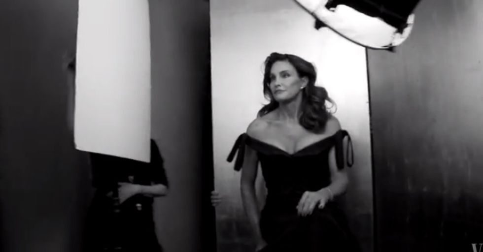 Caitlyn Jenner is ready for her closeup. Her life and her spirit are incredible.
