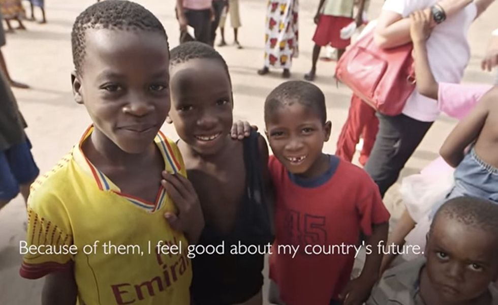 What's happening now with the recent Ebola outbreak in West Africa? Time to start building a future.