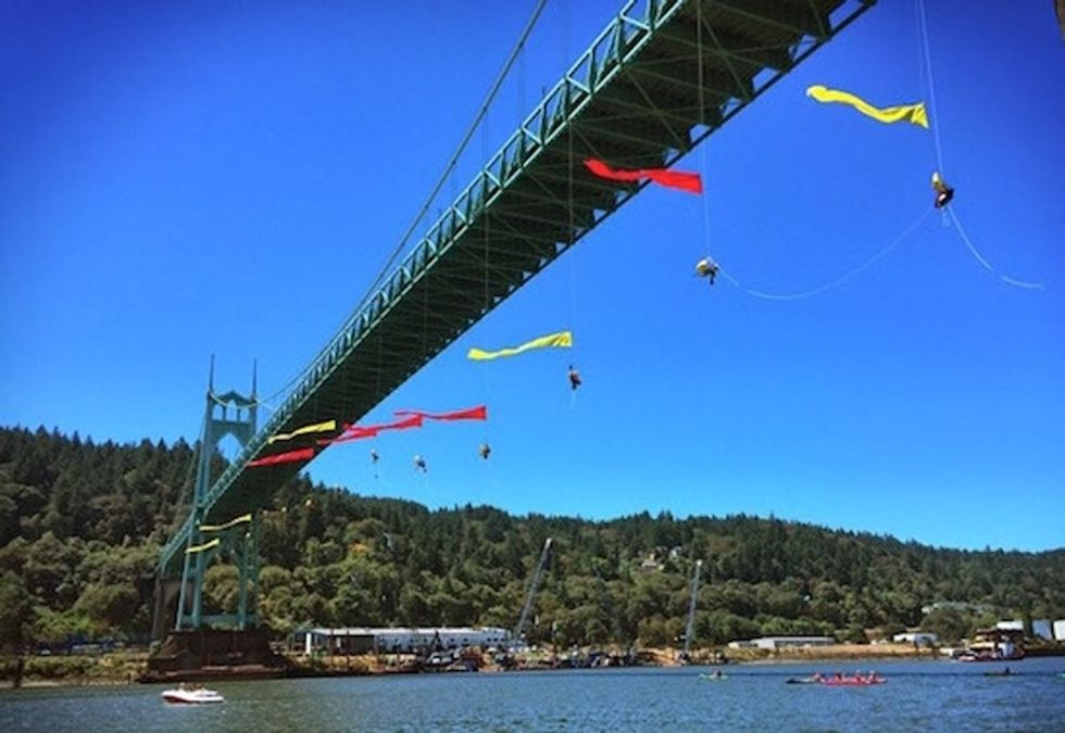 What happened when #ShellNo protestors went toe-to-toe with Big Oil in a daring standoff