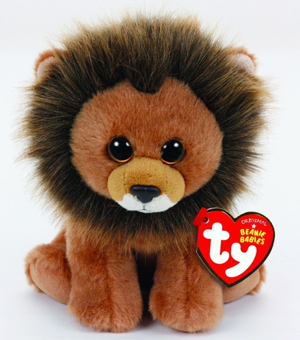 Snagging a Cecil the Lion Beanie Baby is the most adorable way to support animal conservation.