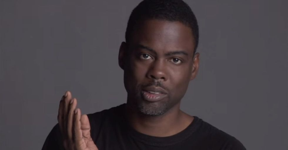 3 selfies shared by Chris Rock are just one more way he's demonstrating racism still exists.