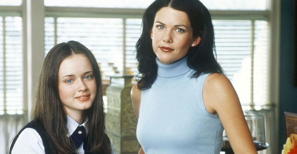 Two guys watching 'Gilmore Girls' teach us all how to watch TV without shame.