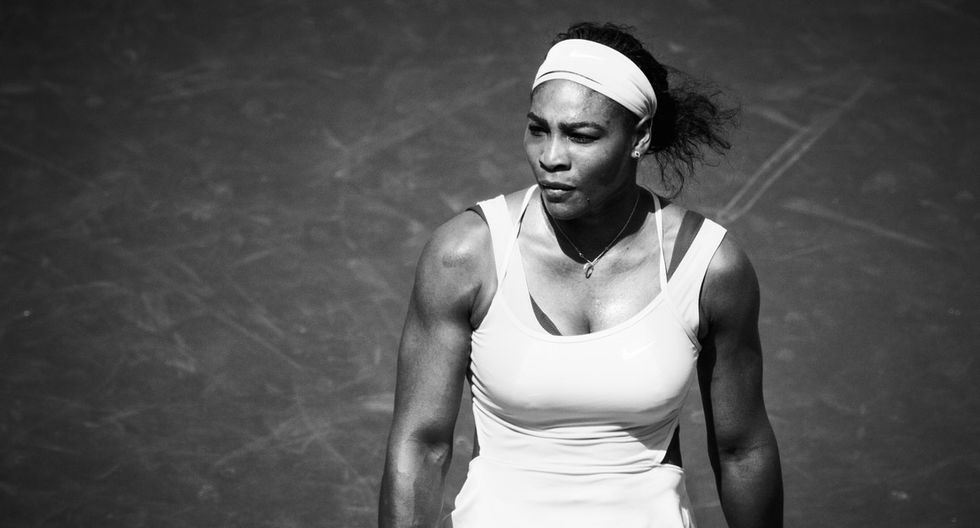 Serena Williams is too busy winning to care what people say about her body.