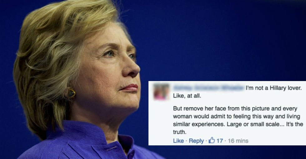 The best thing about Hillary Clinton's Humans of New York pic? The comments.
