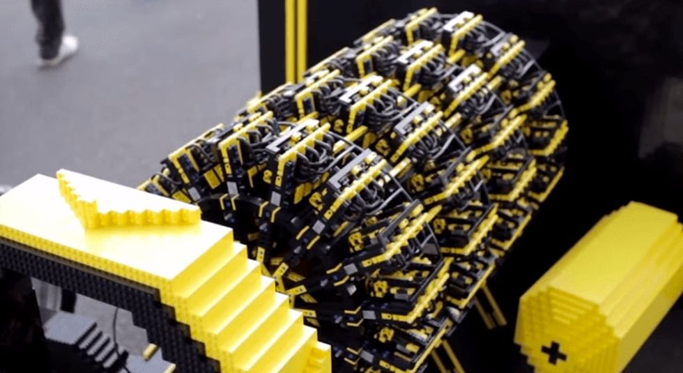 They gave him $20,000 to build a car out of Legos. Here's what he came up with.