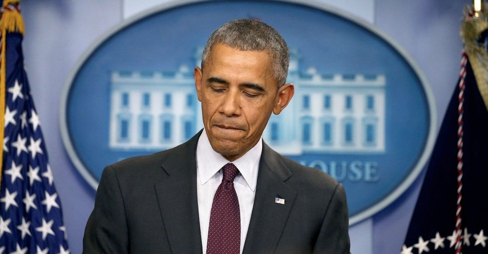 Watch President Obama's emotional address to the nation in the wake of another tragic mass shooting.