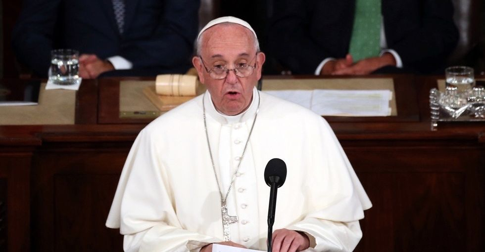 Yesterday, a little girl gave the pope a letter. Today, he said 5 things that sound just like her.