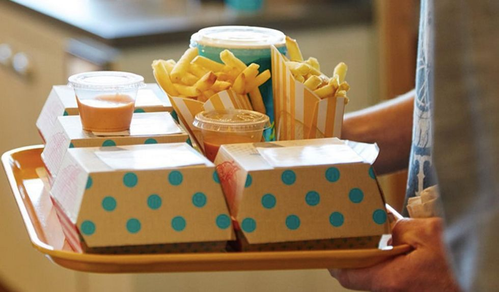 People can't get enough of this new organic, vegetarian fast food.