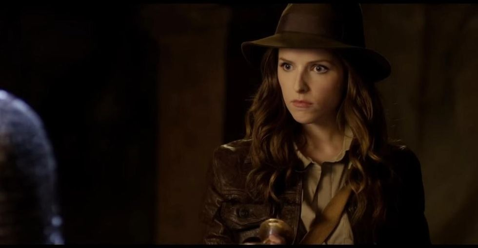 Watch Anna Kendrick be Indiana Jones for Red Nose Day and whip up some jokes.
