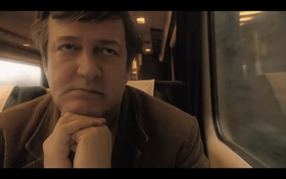 Stephen Fry's description of his depression is perfect because it is 100% honest.