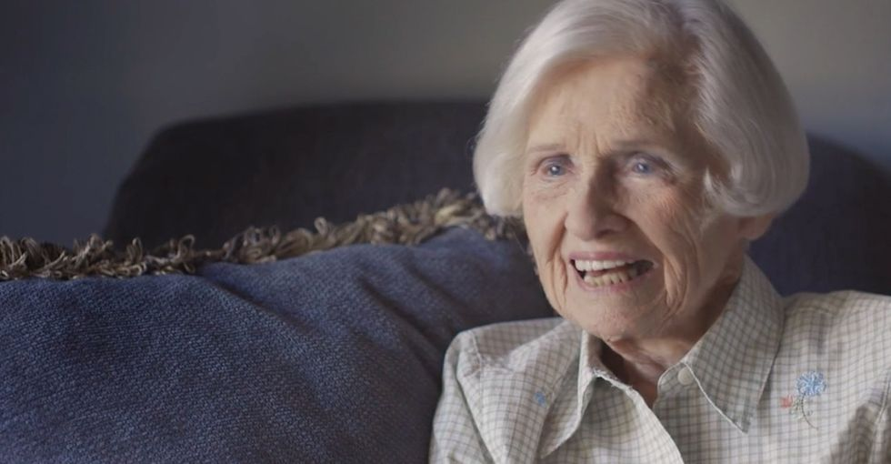 When a 97-year-old's driver's license was revoked, she went to get it back.