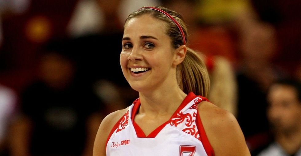 Becky Hammon is cracking the NBA's glass ceiling as the first woman to coach an NBA team.