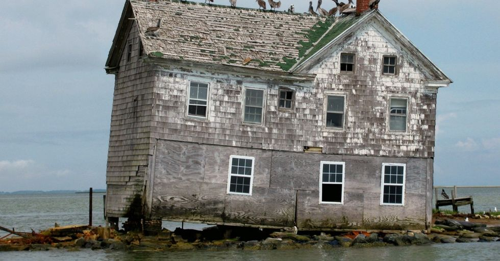 One U.S. island people lived on disappeared right into the ocean. Another one is on its way.