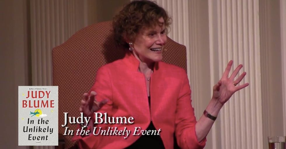 Judy Blume tells it like it is when it comes to books and censorship.