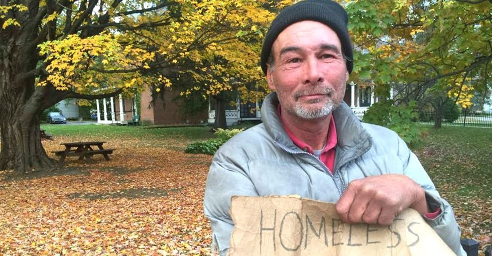 This group found a simple way to get messages from homeless people to their families.