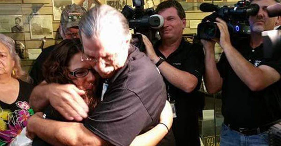Justice served: A Missouri man is free after serving 19 years of a life sentence for selling pot.