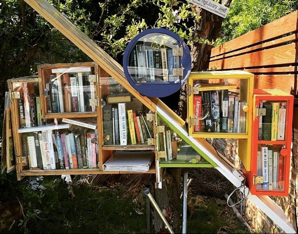 Love books? These 12 tiny libraries might steal your heart.