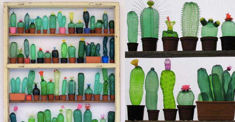 27 images of 'reincarnated' plastic bottles show why it's better to recycle.