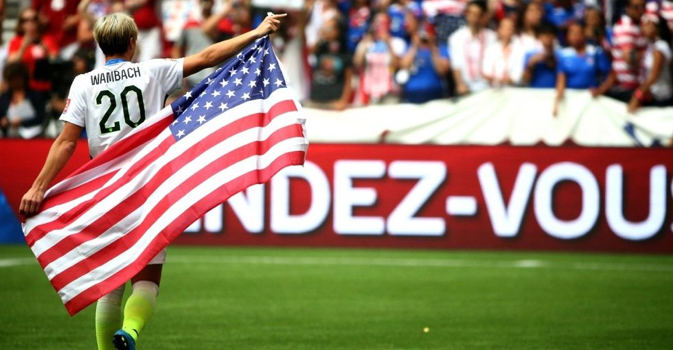 It was the kiss seen around the world. How Abby Wambach is challenging homophobia in sports.